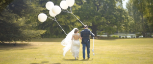 videos of wedding balloons at Stoke Place