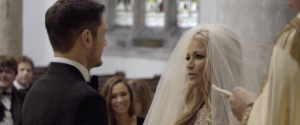 Videographer catches vows moments