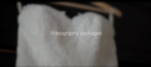 Videography packages