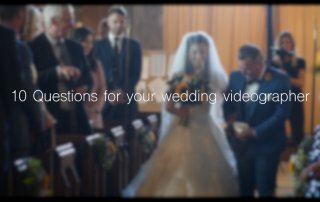 10 Important Questions To Ask Your Wedding Videographer